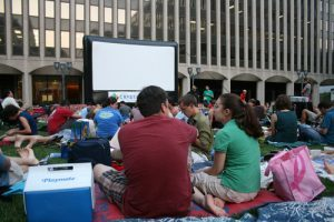 Outdoor Film Guide In Summer 2016