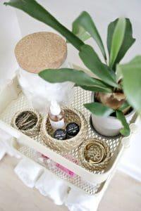 Organized Bathroom Accessories