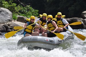 People In A Raft In D.C. Shenandoah River