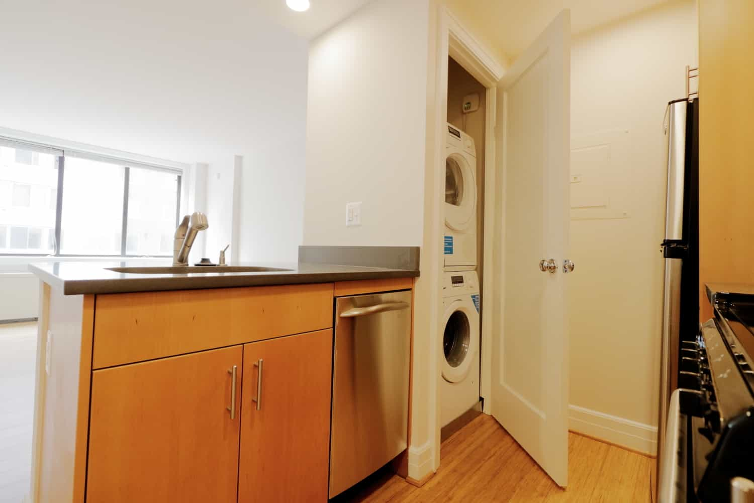 M Street Tower Apartment Laundry Room