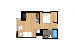 The-Drake-Unit-111-floor-plan-300x205
