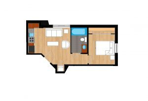 The-Drake-Unit-112-floor-plan-300x205