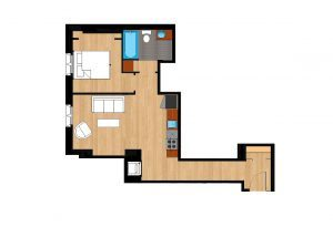 The-Drake-Unit-221-floor-plan-300x205
