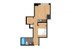 The-Drake-Unit-223-floor-plan-300x205