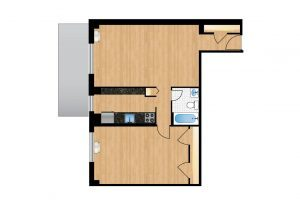The-Park-Monroe-Tier-1-floor-plan-300x205