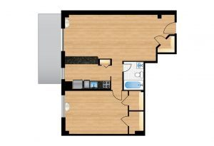 The-Park-Monroe-Unit-1001-floor-plan-300x205