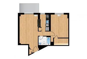 The-Park-Monroe-Unit-1017-floor-plan-300x205