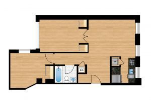 The-Preston-Unit-101-floor-plan-300x205
