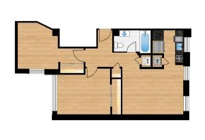 The-Preston-Unit-105-floor-plan-300x205