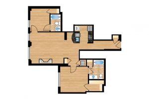 The-Regent-Unit-105-floor-plan-300x205