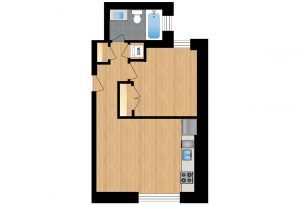 The-Santa-Rosa-Unit-104-floor-plan-300x205