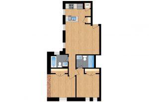 The-Santa-Rosa-Unit-401-floor-plan-300x205
