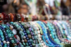 Beads In A Holiday D.C. Market