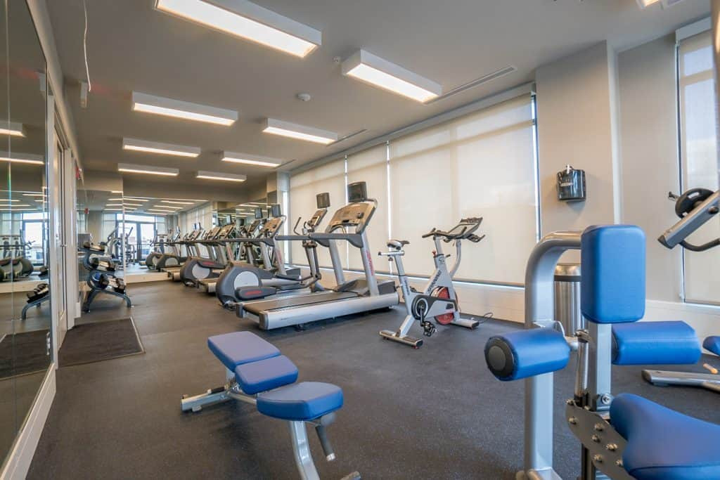 Sutton Plaza Apartment Gym