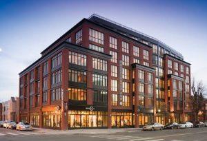 The Harper Apartment Building Exterior