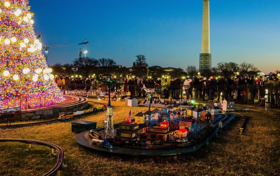 National Christmas Tree Lighting In D.C.