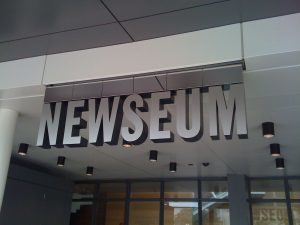 Newseum Building Entrance