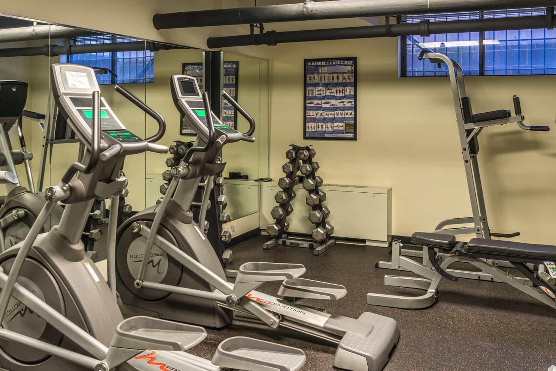 The Sutton Plaza Gym