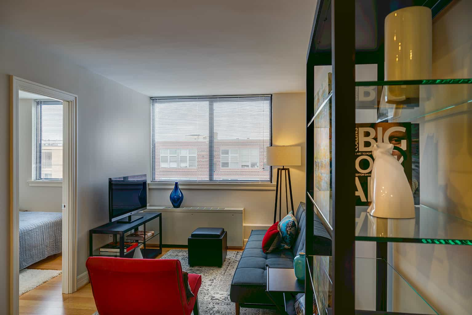 The Sutton Plaza Apartment Living Room
