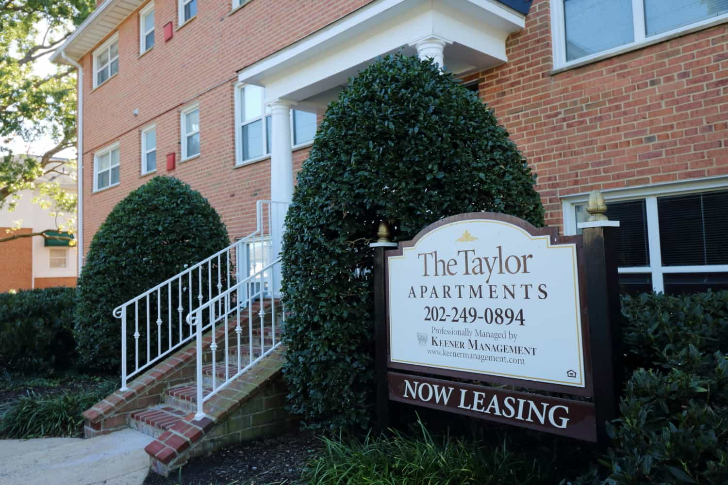 Front Of The Taylor Luxury Apartment Building