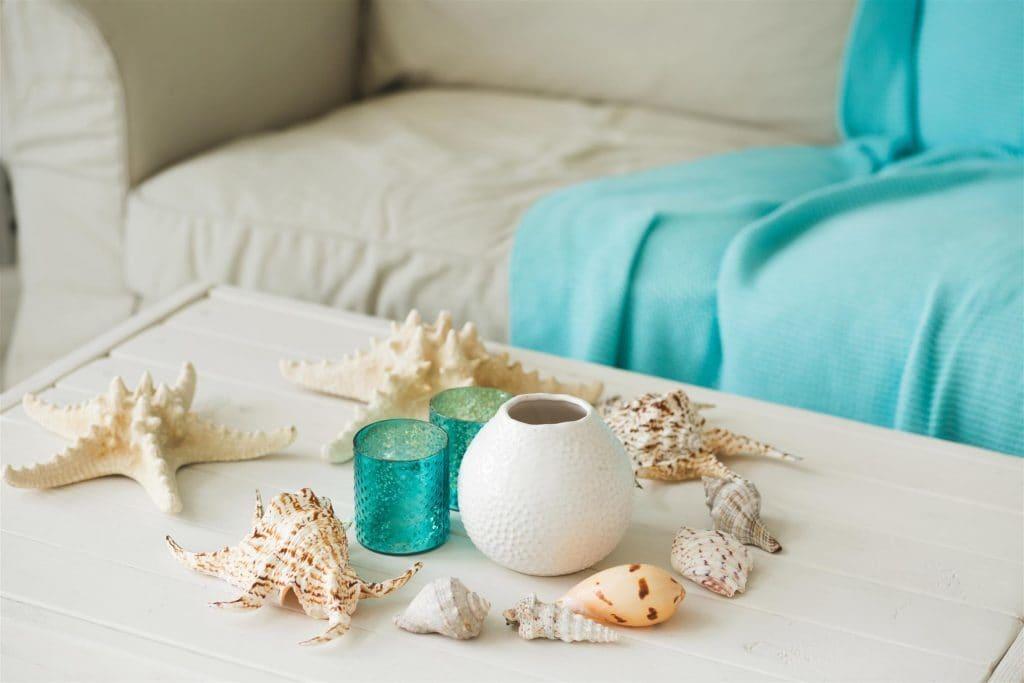 DIY Summer Decor Made From Sea Shells