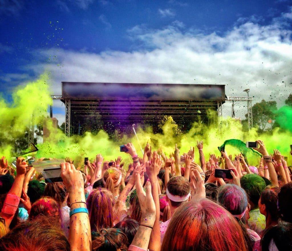 Crowd At A Washington DC Summer Festival