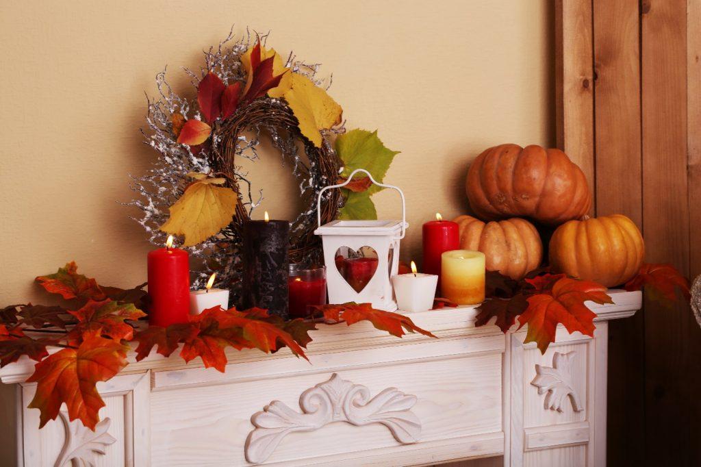 Fall apartment decor