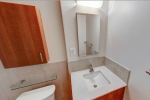 M Street Apartment Bathroom