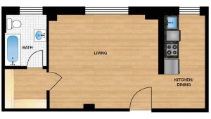 Windermere Harrowgate H108 - H808 Apartment Floor Plan
