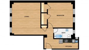 Windermere Harrowgate H110 - H810 Apartment Floor Plan