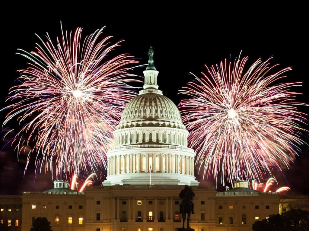 Best Fireworks Viewing Spots in Washington