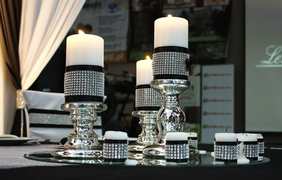 Bling Out Your Home Candles