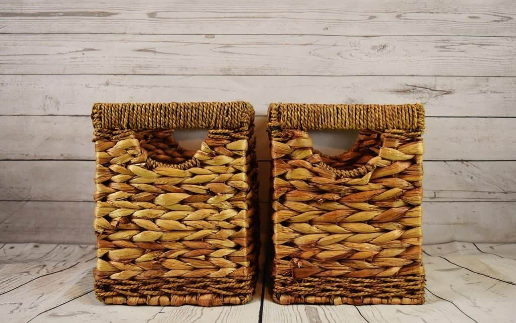Wicker Baskets For Organizing