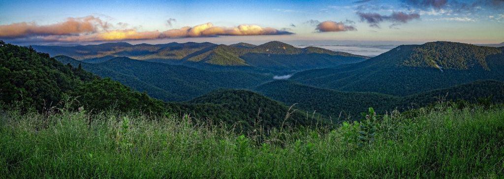 Aerial View of Shenandoah National Park
