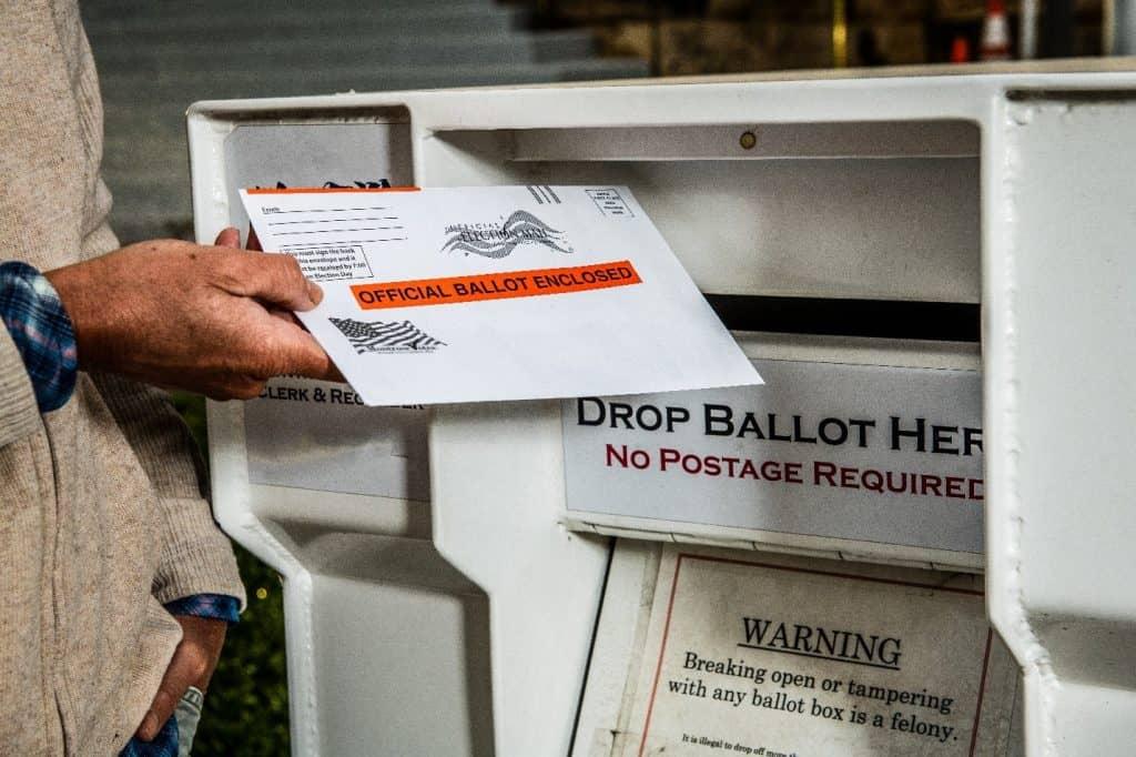Mail in Voter Registration Ballot