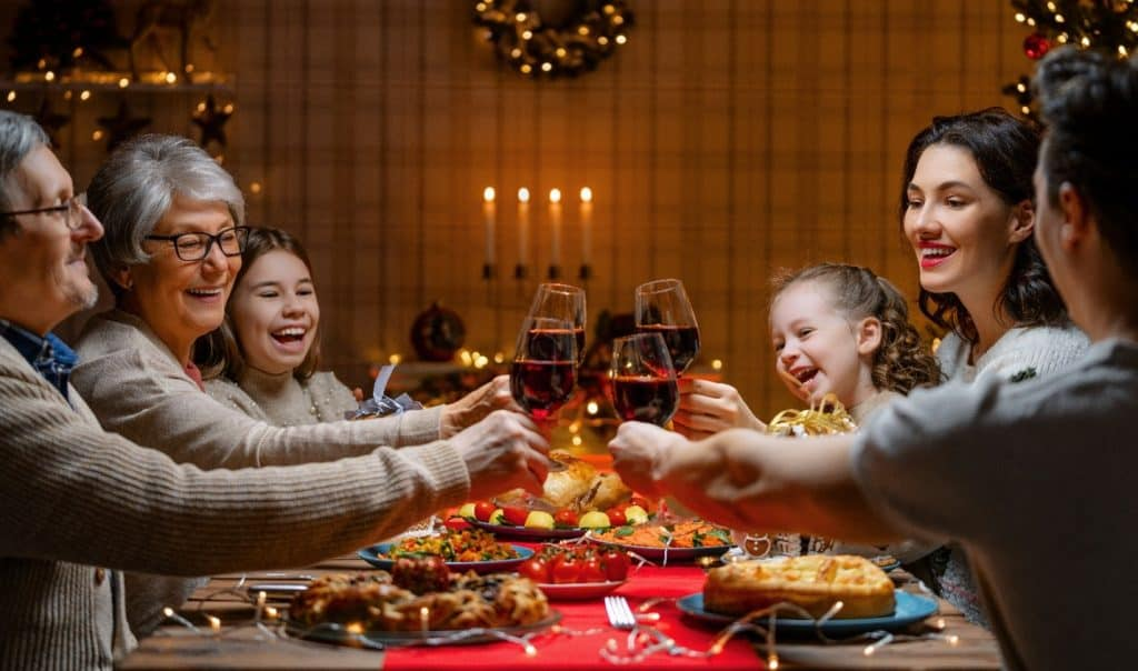 Celebrating Christmas in Washington DC with Restaurant Pickup