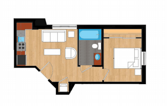 Dupont Circle Apartment Floor Plans