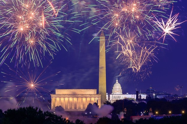 National Mall 4th of July Fireworks