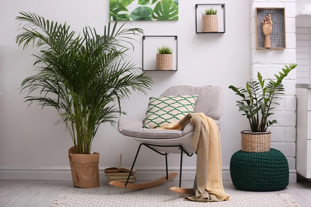 Add Houseplants and Accessorize
